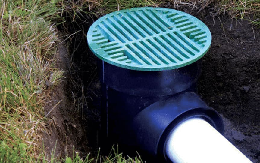 round grates drainage systems