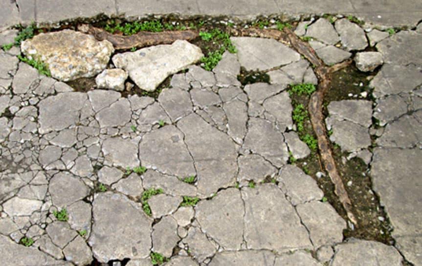 Buckled Driveway Repair