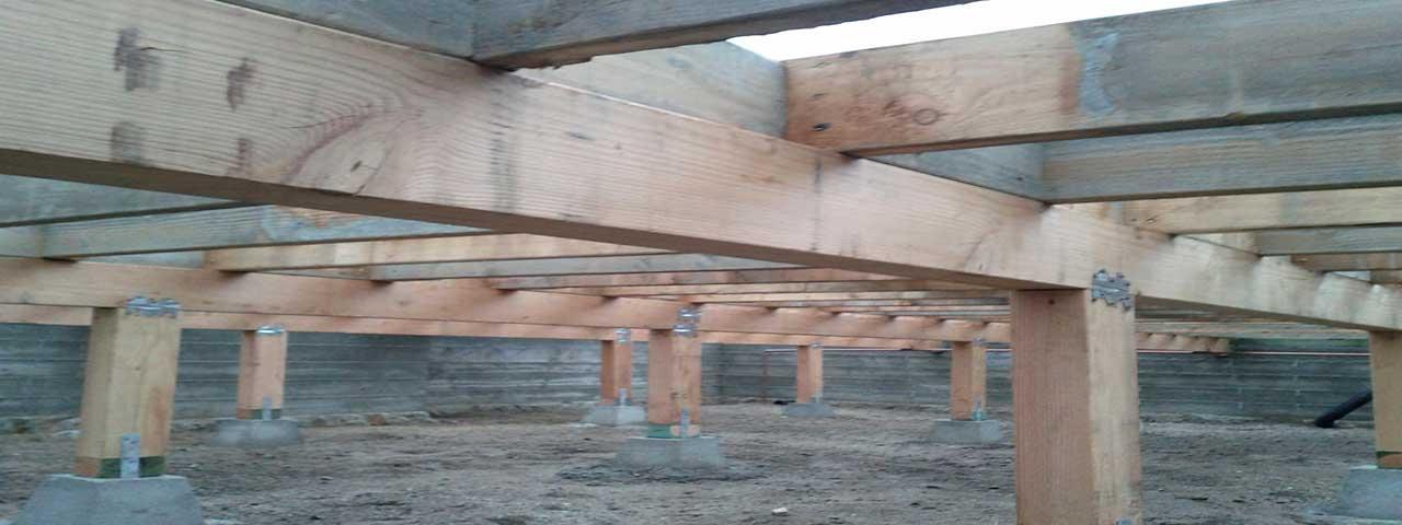 Crawlspace foundation