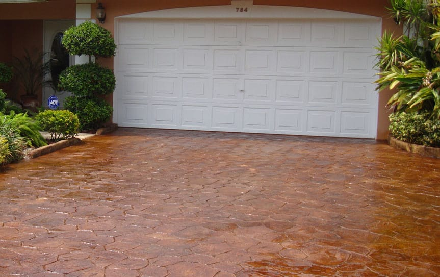 bricks driveway installation