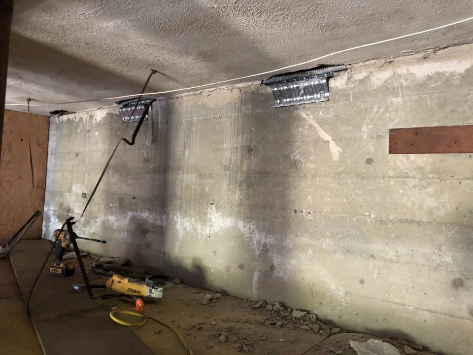 foundation repair on unstable foundation