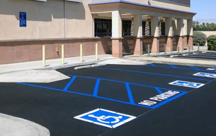 ada parking lot