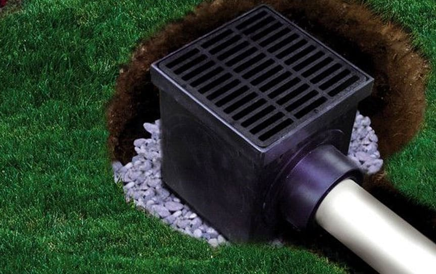 catch basin drain system
