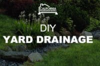 diy yard drainage