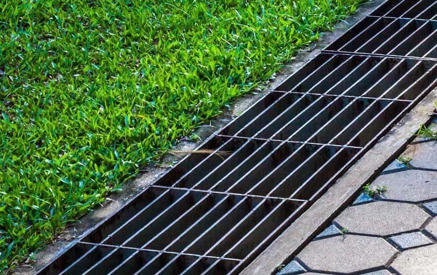 drainage gutter