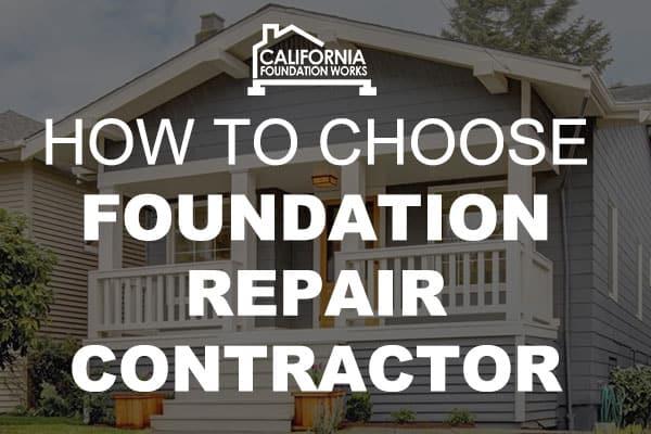 foundation repair contractor