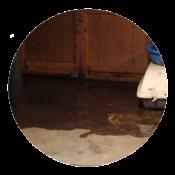 garage flood circle