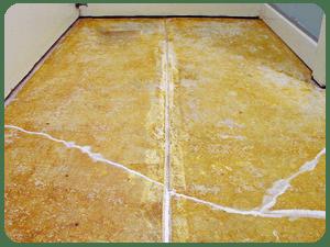 slab floor